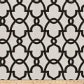 Fabricut The Dance Linen Black  White
