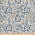 Fabricut Well Shuffled Linen Blend Blue