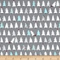 Ink & Arrow Mingle & Jingle Christmas Trees Dark Gray