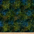 Timeless Treasures Tonga Batik Forest Floor Autumn Leaves Grove