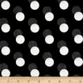 Sparkle & Fade Metallic Shadow Polka Dot Black/Silver