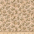 Kim Diehl Winter Cheer Flannel Branches And Stars Cream