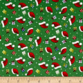 Santa's Little Helpers Hats & Gifts Green