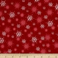 O' Christmas Tree Snowflakes Red