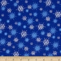 O' Christmas Tree Snowflakes Blue