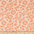 Moda Sugar Pie Lace Garden Orange