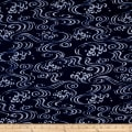 Indigo Summer Graphic Waves Navy