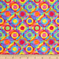 Rainbow Bright Geometric Circles