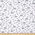 QT Fabrics Millions Of Minions Googly Eyes White