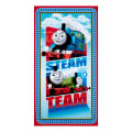 "QT Fabrics Thomas the Train Thomas the Train  Steam Team Express 23.5"" Panel Blue"