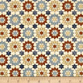 QT Fabrics Bountiful Stars Natural