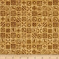 QT Fabrics Bountiful Quilt Blocks Tan