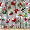 Loralie Designs Fairy Merry Christmas Christmas Crowd Black