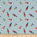 Lewis & Irene Small Things At Christmas Little Soldiers Icy Blue