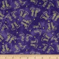 Maywood Studio Halloweenie  Witchy Legs Purple
