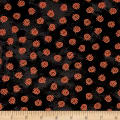 Maywood Studio Halloweenie Geo Swirls Black/Orange