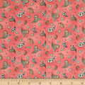 Maywood Studio Roam Sweet Home Little Paisley Soft Red
