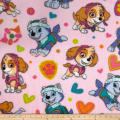 Nickelodeon Paw Patrol Playful Pups! Fleece Pink