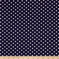 Telio Datoka Stretch Jersey Knit Polka Dots White/Navy