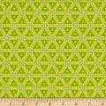 Contempo Mulberry Lane Star Geo Lime