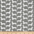 The Dog Gone It Collection Dog Silhouette Gray