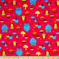 Flannel Owls Red