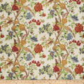 Fabricut Tree Hill Floral Linen Blend Summer Mulit