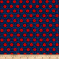 Riley Blake Lost & Found America Dots Blue