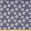 Penny Rose Gingham Girls Daisy Navy