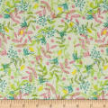 Itty Bitty's Floral Light Green