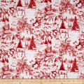 Susan Winget Woodland Toile Multi