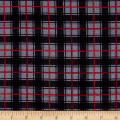 Timeless Treasures Oxford Flannel Classic Plaid Grey