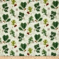 Timeless Treasures Wilderness Leaves Cream