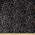 Hatchi Sweater Knit Cheetah Black/Grey/Taupe