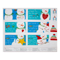 "Sandra Magsamen Huggable & Loveable Holiday 36"" Snowman Book "" Panel Multi"