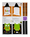 "Sandra Magsamen Huggable & Loveable Holiday 36"" Trick Or Treat Bag 36"" Panel Multi"