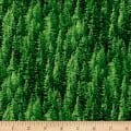 Natural Treasures 2 Pine Trees Green