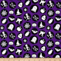 Ready Set Glow In The Dark Halloween Motifs Purple