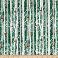 Gina Linn A Time Of Wonder Birch Trees With Birds