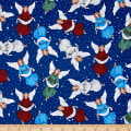 Silent Night Angels Blue