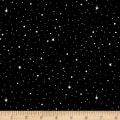 Silent Night Stars & Snow Black