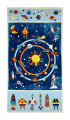 "Space Adventure 23"" Panel Navy/Multi"