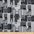 Sarah Frederking Super Heroes Cityscape Gray