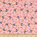 Riley Blake Kewpie Love Bird Pink