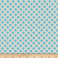 Riley Blake Sew Cherry 2 Circle Aqua