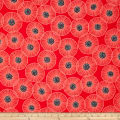 Poppies In Bloom Red Main Poppy Red