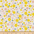 Cloud 9 Organic Stay Gold Primrose Cotton White