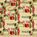 Florentine Christmas Metallic Joy Antique