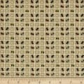 Primitive Stitches Spool Grid Tan