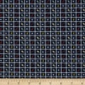 Primitive Stitches Spool Grid Navy